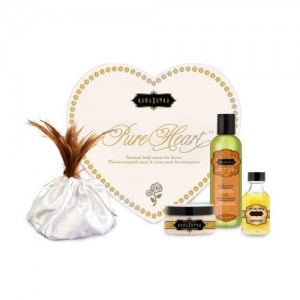 Kama Sutra Pure Heart Gift Set $55